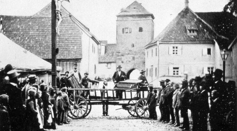 Morris Steinert in Scheinfeld